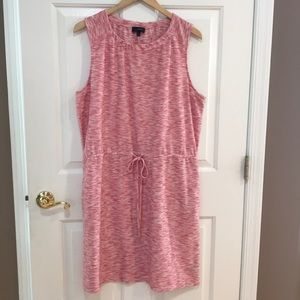 The Limited Red/White Dress w/Pockets XL EUC